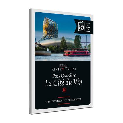 Pass croisière-dégustation Cité du Vin