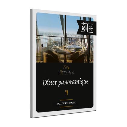 Dîner au restaurant panoramique - la Cité du Vin - le 7