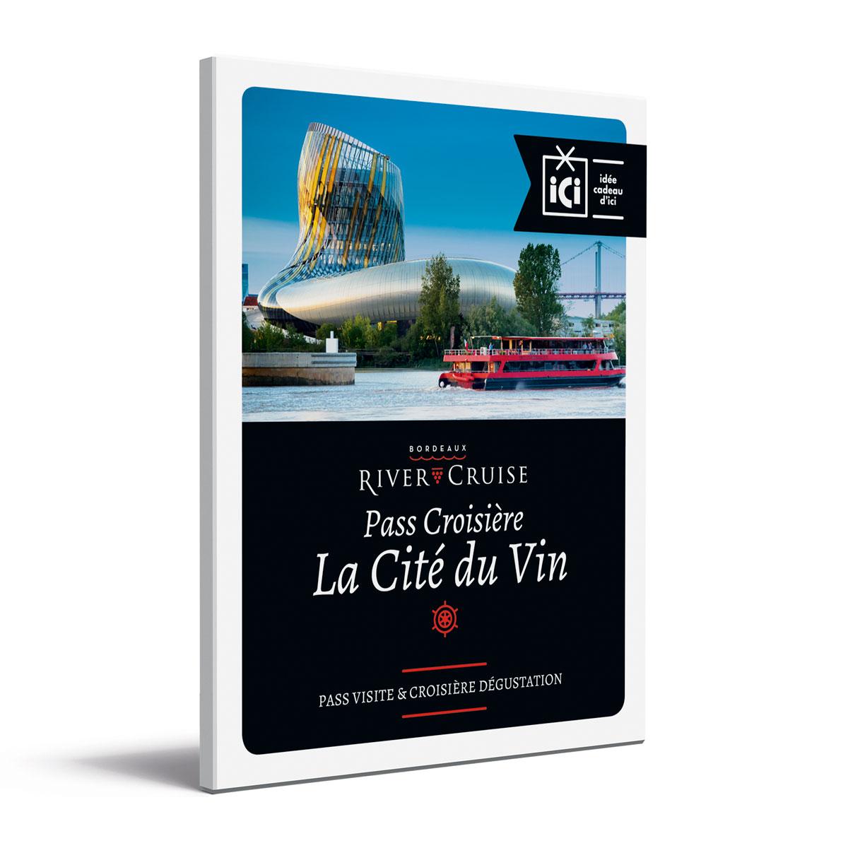 Coffret pass croisière La Cité du Vin recto ombre