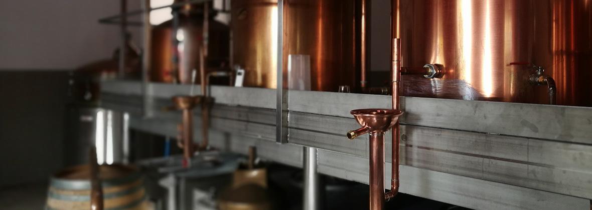 Visite de la distillerie de whisky Moon Harbour