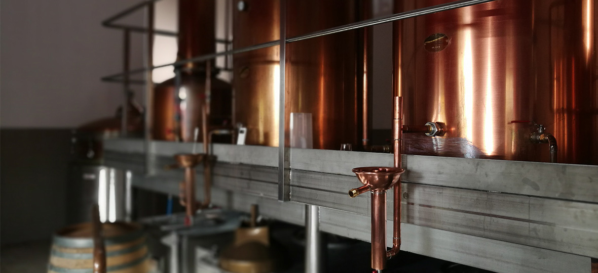 La distillerie de whisky Moon Harbour