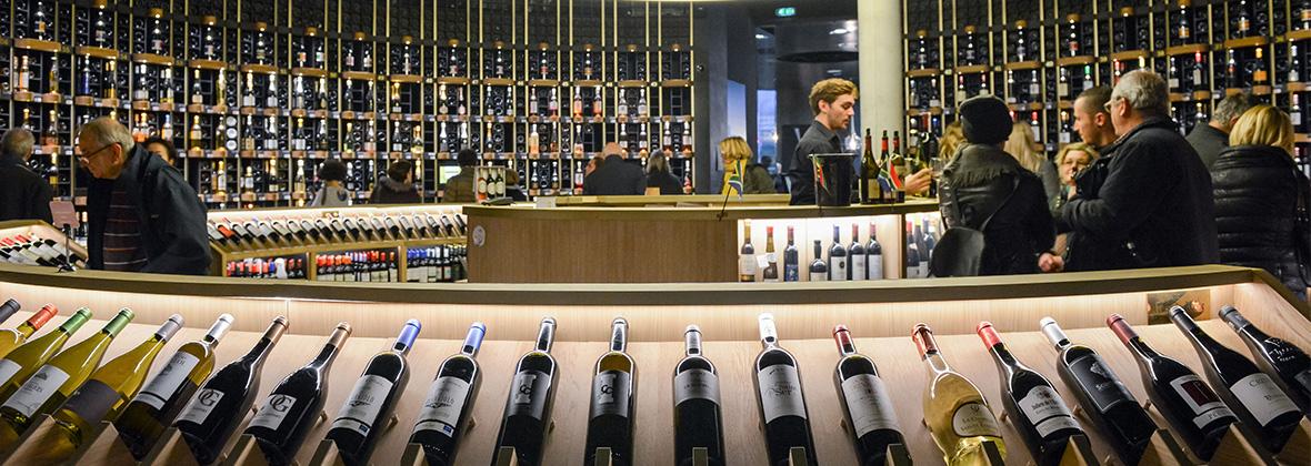 Visite boutique de La Cité du Vin