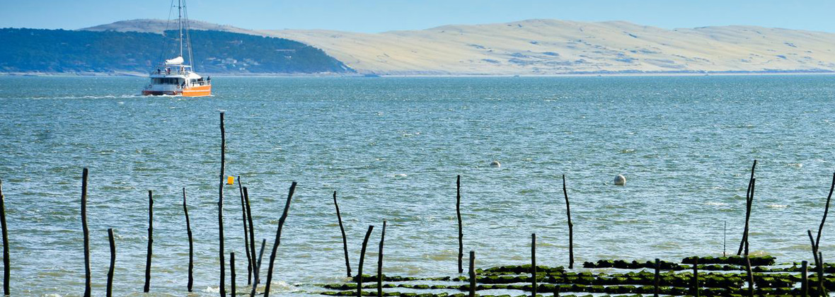 le bassin d'arcachon et sa dune du pilat