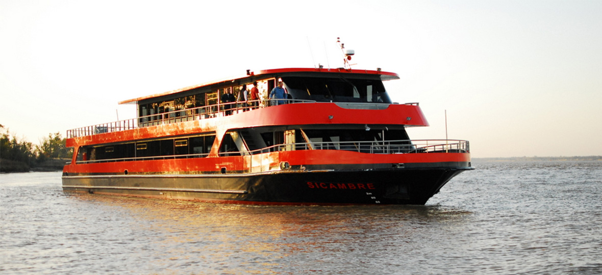 Le bateau Sicambre de Bordeaux River Cruise