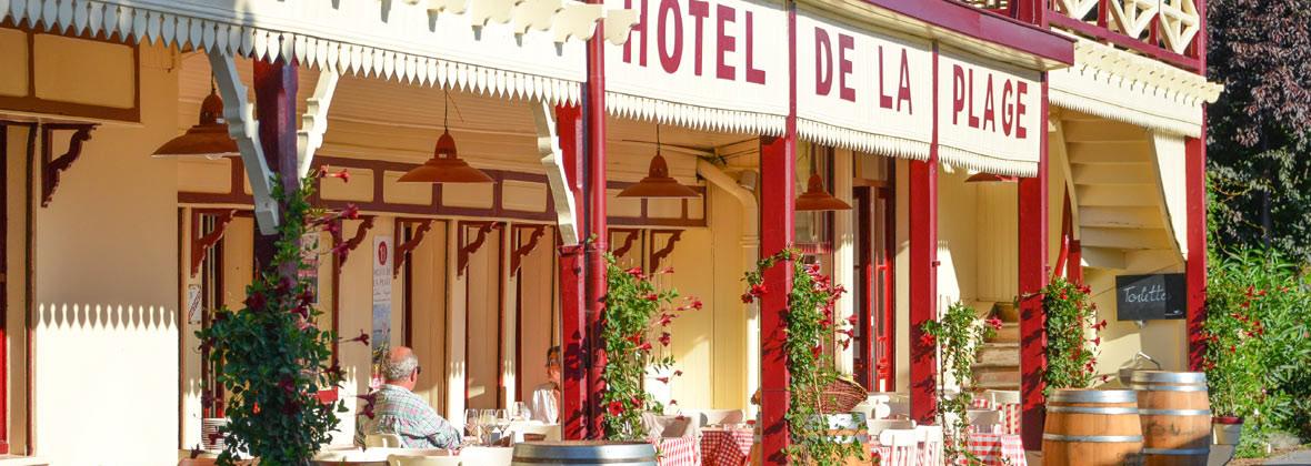 Restaurant l'hotel de la plage Nicolas Lascombes
