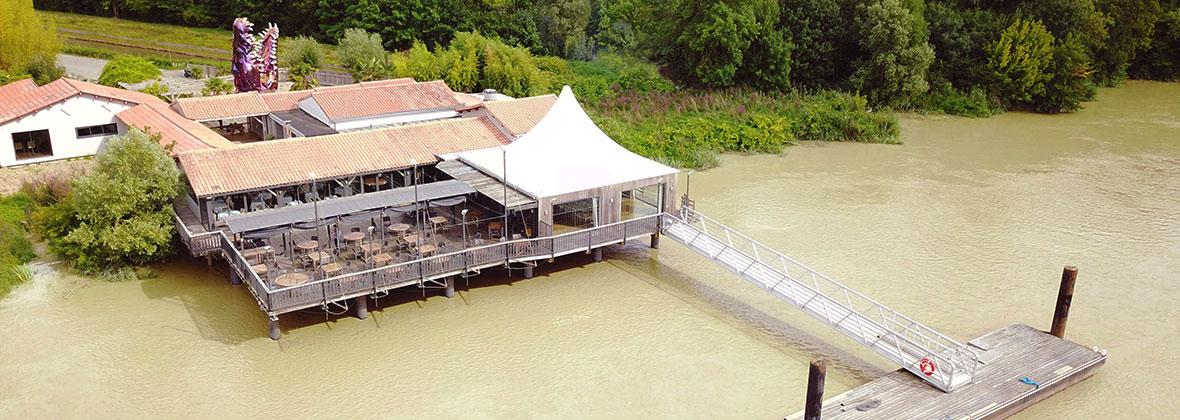 Restaurant la Maison du fleuve